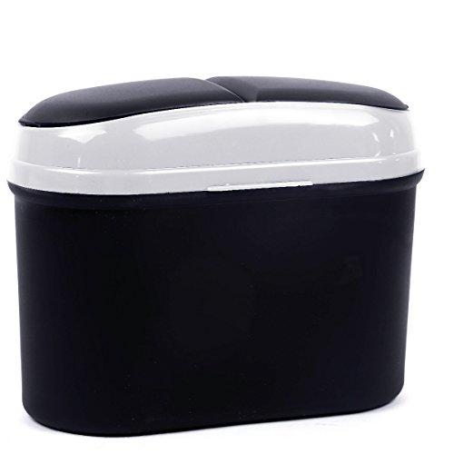Auto Mini Plastica Scatola Polvere Bin Spazzatura Possibile Garbage Box Auto Deposito Box