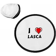 Disco volador personalizado (frisbee) con Amo Lasca (nombre de pila/apellido/apodo)