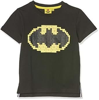fabtastics jungen t shirt lego batman schwarz schwarz. Black Bedroom Furniture Sets. Home Design Ideas