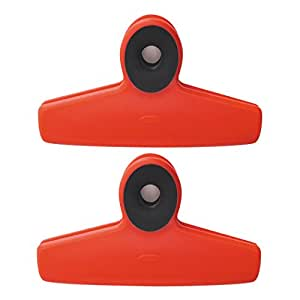 Oxo Good Grips Bag Clips, Pack of Two, Red
