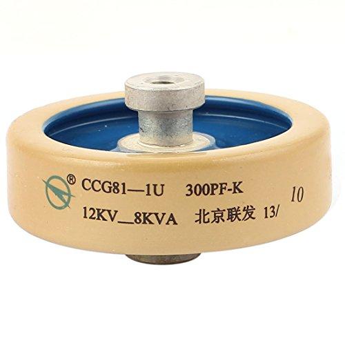 sourcingmap® M6 Gewinde 300PF 12KV 8KVA Hochspannung HV Keramik Kondensator Capacitor de -