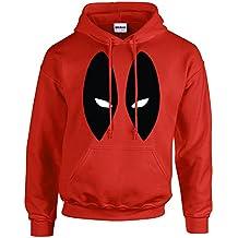 Foolsgoldtshirts Deadpool Marvel Superhero Hoodies for Adults and Kids