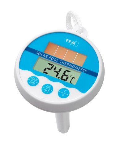Preisvergleich Produktbild TFA Digitales Poolthermometer (inkl Batterie) weiß-blau 301041
