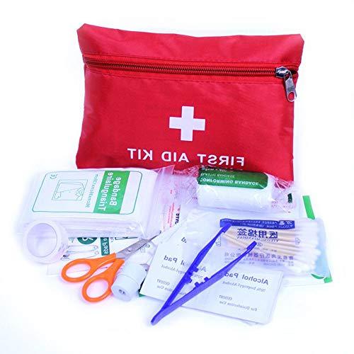 Preisvergleich Produktbild Fliyeong Erste-Hilfe-Set: Kompakt für den Notfall,  Auto,  Camping,  Arbeitsplatz,  Wandern und Überleben.