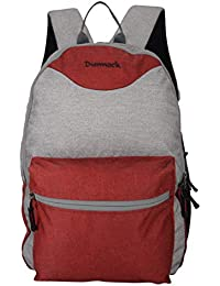 Dunnock Caspara Backpack, 25 Litre (Grey/Red)
