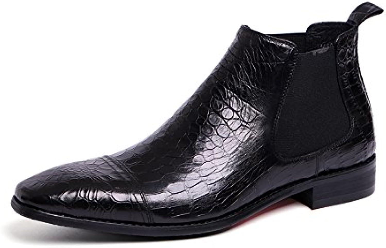 Männer  stiefel für Männer casual mode lederstiefel martin martin stiefel schwarz 43