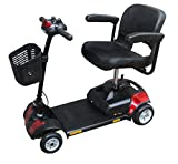 Awsgtdrtg 4 Wheeled Portable Travel Car Boot Mobility Scooter/4 Mph