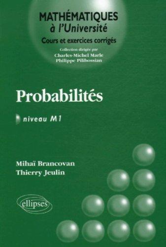 Probabilités Niveau M1