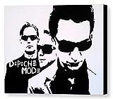 MAUSI CREATIONS - Depeche Mode Quadro - Stampa su Tela, Stretched Canvas Print, Druck Auf KEILLENWAND - Riproduzione dal Dipinto Originale