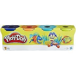 Play-Doh 14073 - Pasta da Modellare, 4 Vasetti