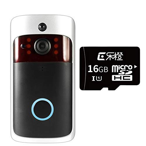 Video Türklingel Smart Wireless Wifi Security Doorbell Visual Recording Consumption Remote Home Monitoring Night Vision Smart Video Door Phone kombination Wireless-digital-video-recording-system