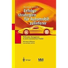 Erfolgsstrategien für Automobilzulieferer: Wirksames Management in einem dynamischen Umfeld