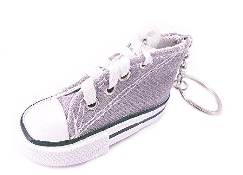 Unbekannt Sneaker Baby Kinder Süßer Kleiner Schuh Schlüsselanhänger Anhänger Grau