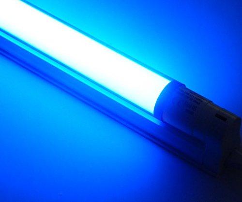 LED Armatur 0,60m LED Röhre 10 Watt 900Lm blau Disco Party Event Feste farbig energiesparend Party