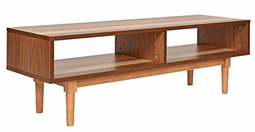 ts-ideen TV-Bank Hifi Board Schrank Lowboard Fernsehtisch Japan Design Holz 120 x 37,5 cm