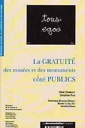 La gratuité des musées et des monuments côté publics : Représentations, projets d'usage et comportements des publics