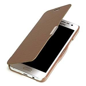 youcase - Samsung Galaxy A3 Slim Flip Case Etui en cuir coque de protection Housse marron