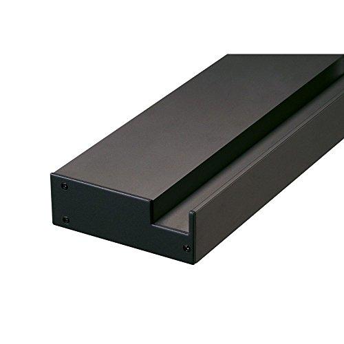 Slv glenos - Soporte pared perfil profesional 20cm negro