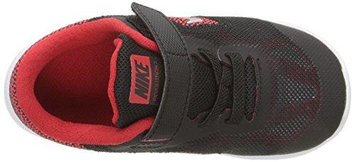 Nike Revolution 3, Chaussures Marche Mixte Bébé Rouge (Unvrsty Rd/Mtllc Slvr-Blck-Wht)
