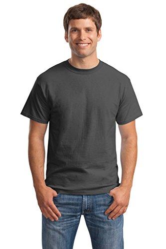 Hanes Big Mens Born to Be Worn 100% Cotton T-Shirt Smoke Grey