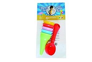 ADRIATIC 657 Beach Toys - Juego de Helado en Bolsa de Nailon