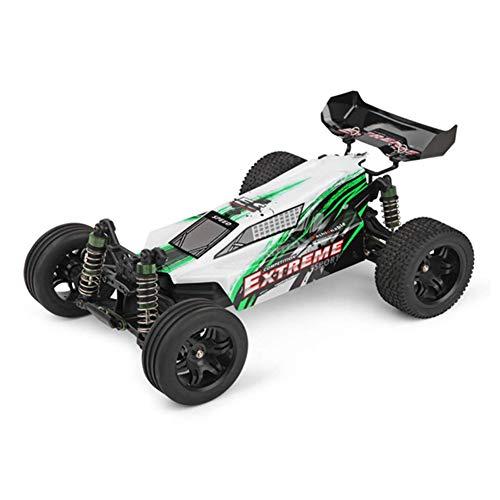 Scherzt Fernsteuerungsauto, RC 35KM / H 2.4Ghz Fernsteuerungsauto 1:12 Skala 2WD ImpräGniern Das RTR, Das Monster-LKW Kind-Erwachsen-Spielzeug LäUft, Green - Mädchen, Monster-lkw-spielzeug