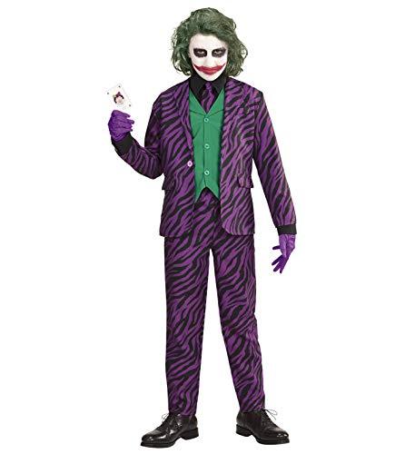 Checklife Killer Clown Kostüm Evil Joker für Kinder und Erwachsene Halloween Kostüm Faschingskostüm Karneval kostüm (Gr. ()