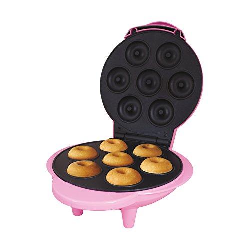 Global Gizmos Donutmaker Benross, 1000Watt, Fun Pink