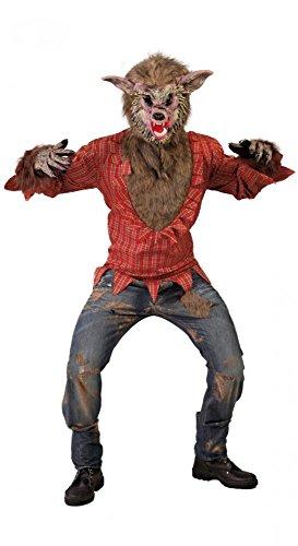 shoperama Werwolf Herren-Kostüm Gr. M/L Teen Wolf Halloween