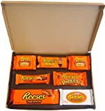 Reese's American Chocolate Selection Box - 7 Packs - The Perfect Gift That Fits Through Your Letterbox From UKPD - BBE 2017