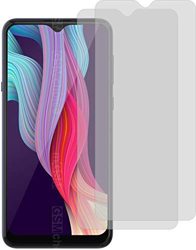 2X ANTIREFLEX matt Schutzfolie für Hisense King Kong 5 Bildschirmschutzfolie Displayschutzfolie Schutzhülle Bildschirmschutz Bildschirmfolie Folie