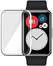 S-COLOR Huawei fit watch case protector full cover (Clear)