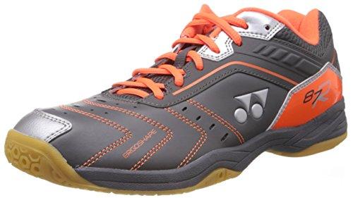 Yonex SHB87R Badminton Shoes, 9 UK (High Orange)