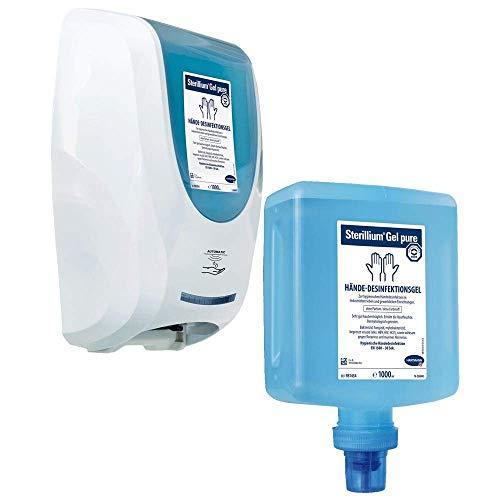 Hartmann Desinfektionsmittel-Spender CleanSafe touchless + 10x1 Liter Sterillium Gel pure