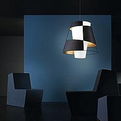 Pallucco Crinolina Sospensione 90 Viola Fluo, lampada a sospensione 90cm
