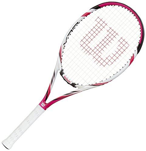 WILSON Six.Two TNS RKT W/O Raqueta de Tenis, Mujer, Rosa/Blanco/Negro (Pink/White/Black), 2