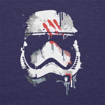 TEXLAB - Signed Trooper Painting - Herren Langarm T-Shirt Navy