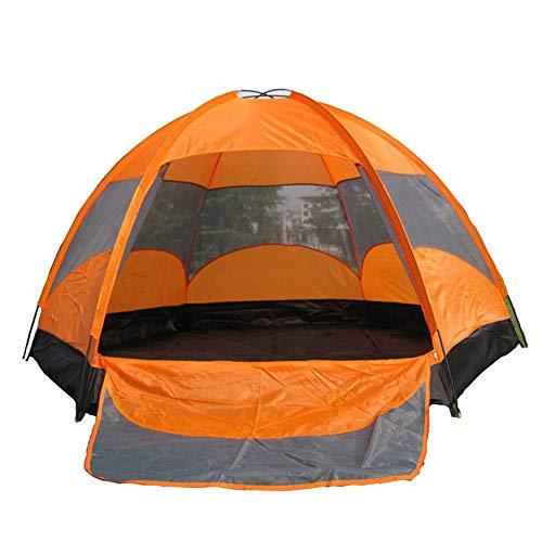 GU YONG TAO 5-Personen-Campingzelt mit großem Platz,