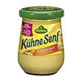 German Kühne Mustard Medium Strength - 1 x 250 ml
