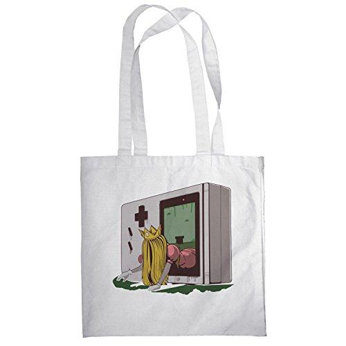 Texlab–The Princess–sacchetto di stoffa Bianco