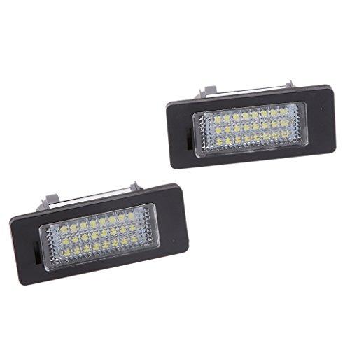 Matrícula LED Luz Día de 24 SMD Blanco Para BMW E90 M3 E92 E70 E39 F30 E60