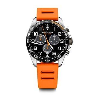 Victorinox Hombre FieldForce Sport Chronograph – Reloj de Acero Inoxidable de Cuarzo analógico de fabricación Suiza 241893