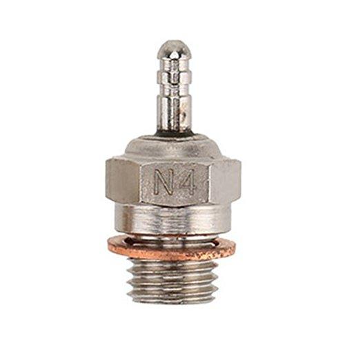 Acciaio Universale 70117 N4 Candela Glow Plug Per 1/10 HPI HSP RC Auto