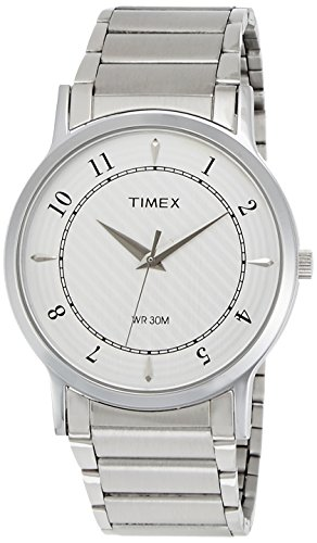 Timex Classics Analog Silver Dial Men's Watch - TI000R40900