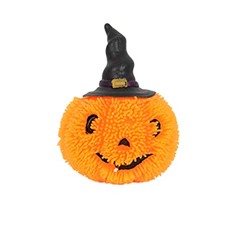 keerads Halloween Squishy Spielzeug Light Up Kürbis Ghost -