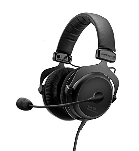 beyerdynamic MMX 300 Premium Over-Ear Gaming-Headset (2nd Generation) mit Mikrofon. Geeignet für PS4, Xbox One, PC, Notebook (1-konsole-verlängerungskabel)