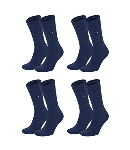 Tommy-Hilfiger-Herren-Classic-Business-Socken-371111-4Paar-FarbeBlauSockengre39-42ArtikelSocken-jeans-371111-356