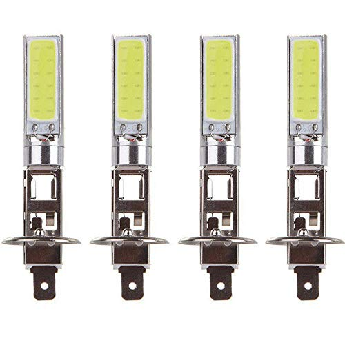 styleinside H1 LED Ampoules de Brouillard Pour Les Voitures CSP Puces 6000LM 6000K Blanc 80W Automobile DRL Feux de Jour 4pcs