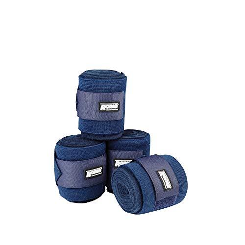 Roma Fleece-Kombi-Bandage, elastisch (3 m) (Marineblau) -