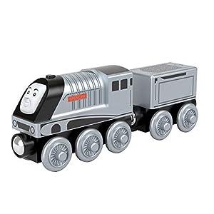 Thomas & Friends - Locomotora de Madera Spencer, Tren de Juguete Niños +2 Años  (Mattel GGG68)
